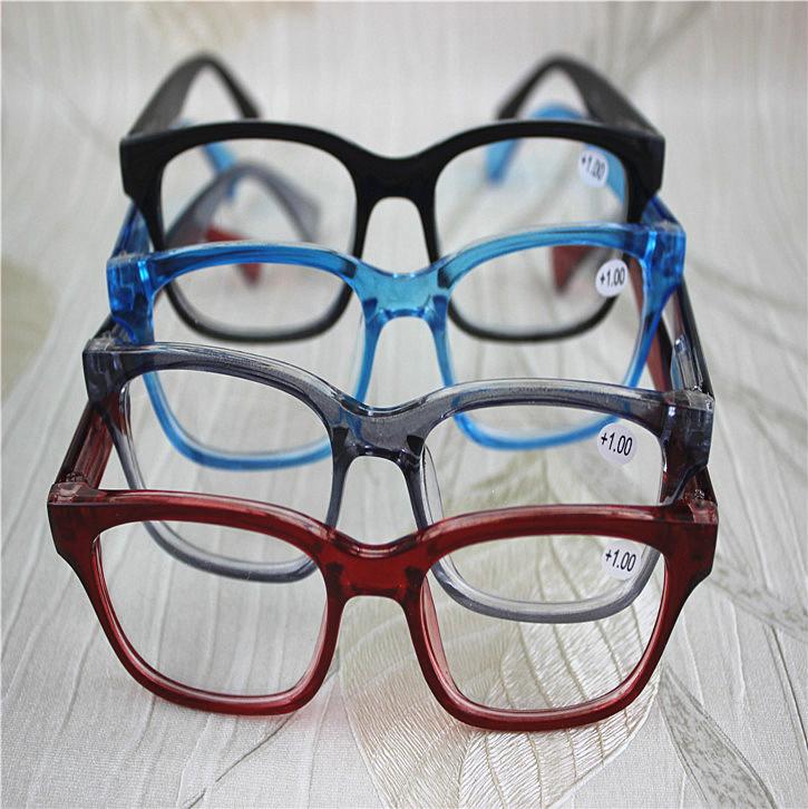 fashion reading glasses bk9e  oversized red reading glasses