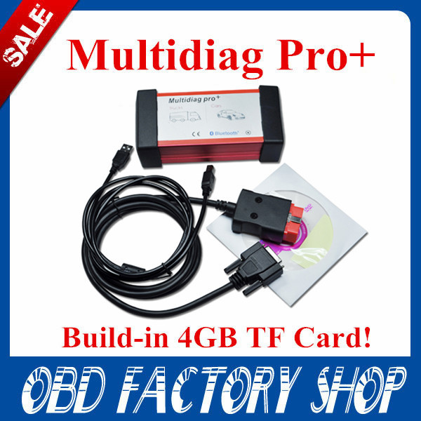 New design Multidiag pro CDP VCI free ship 2015 CDP 4G TF Card+2014.R2 CDP pro software &install video TCS pro(China (Mainland))