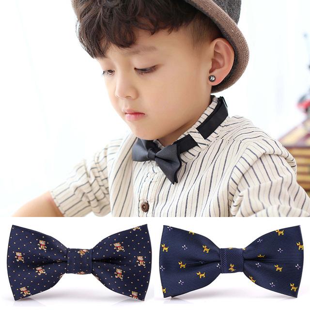 [10 Цвет] Мода Британском стиле мальчика Галстук-бабочка, 10 см * 5 см Бабочка Галстук ...