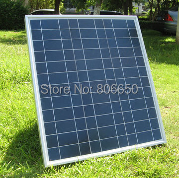 Eu stock, no tax, 80w 2x40w 18v solar module , poly solar panel ,40w 12v ,for charge 12v battery, free shipping *(China (Mainland))