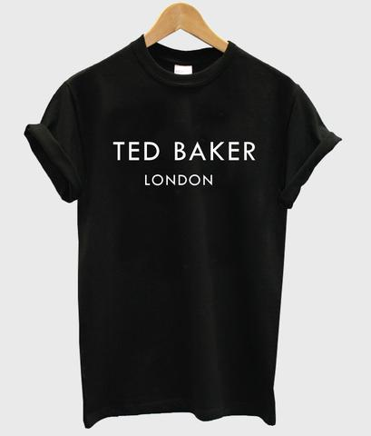 TED BAKER LONDON Letters Print Women tshirt Casual Cotton Hipster Funny t shirts For Lady Top Tee Drop Ship B-340(China (Mainland))