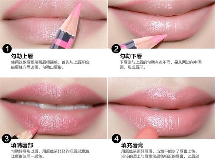 Natural Lip Makeup Step By Step | Vizitmir.com