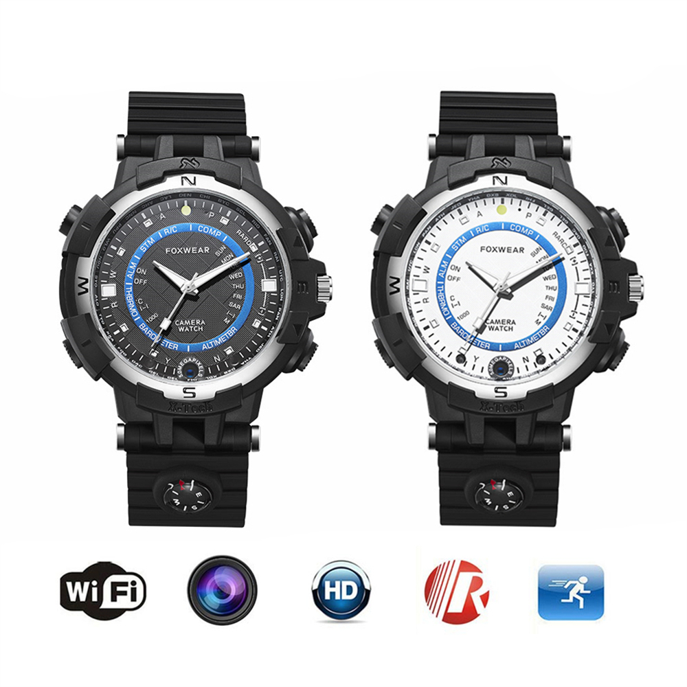 2017 Pocket Mini Sport HD 1280*720 Video Recording Smart Watch Support WIFI P2P IP Camera DVR Voice Recorder for Bicycle Car(China (Mainland))