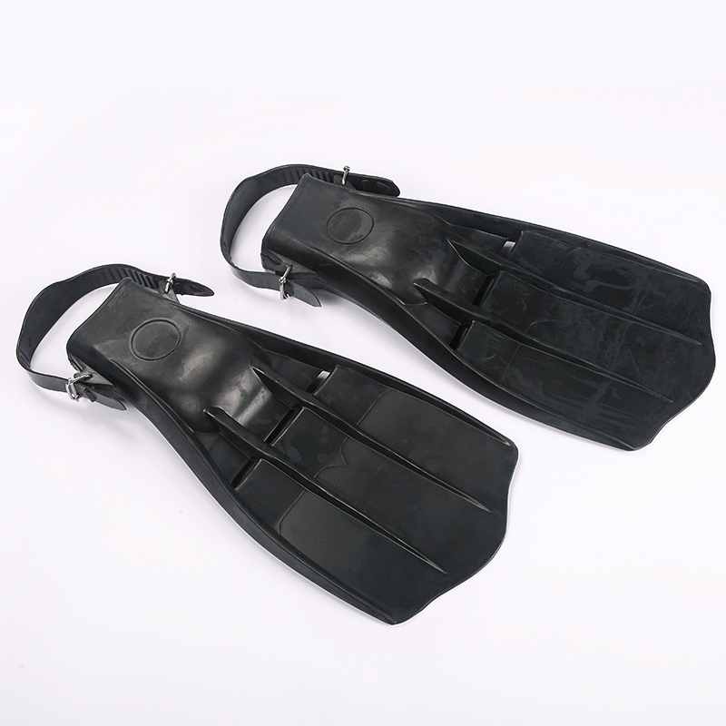 Flipper top adjustable fins professional submersible fins underwater diving fins Black(China (Mainland))