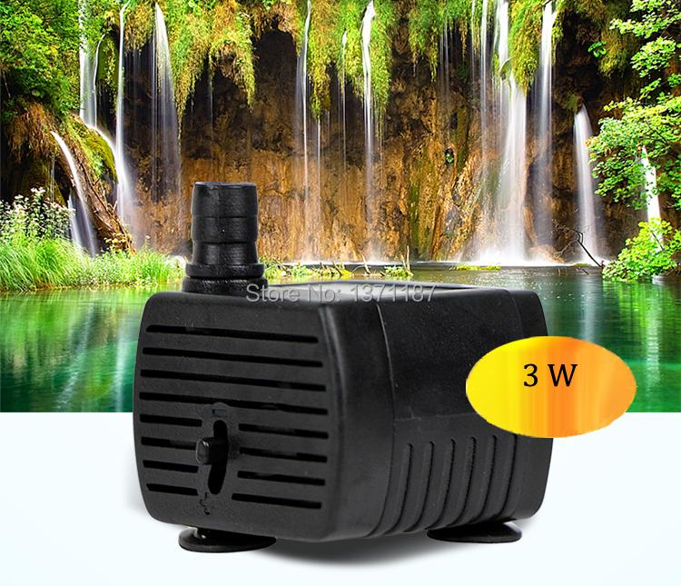 Buy 200l h 3w air water pump aquarium for Fish tank vs pond