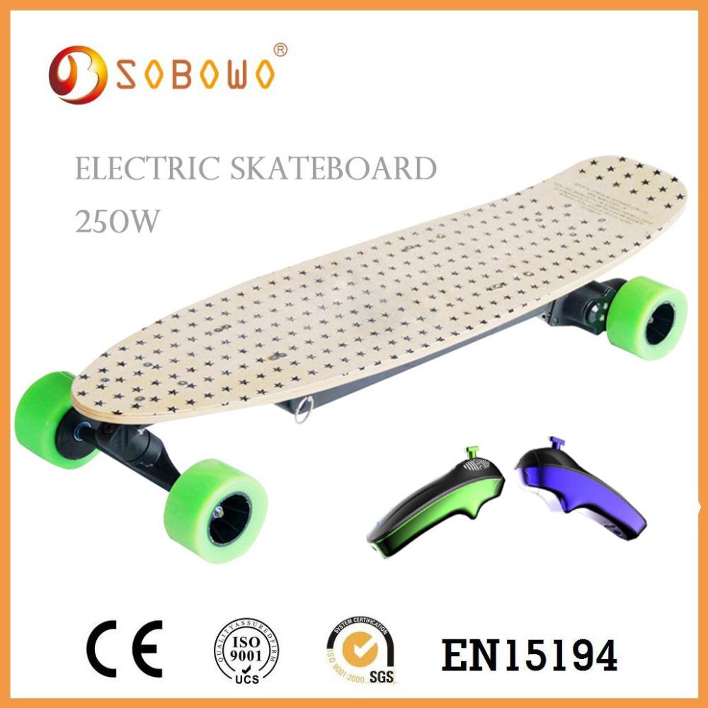 Adult Powered OEM Skate Board/ China Big tyre Electric Skateboard(China (Mainland))