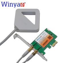 Winyao PCE-8265AC Dual Band Обои для Рабочего PCI-E Wi-Fi Адаптер Wireless-AC 8265NGW 867 М 802.11AC для Intel 8265 NGW Bluetooth 4.2(China (Mainland))