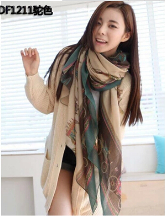 Mixed Lot Christmas Gift 2014 New Scarves Autumn Winter Scarf For Women Shawl Oversized Bali Yarn Scarves Lady Scarf Bu 3(China (Mainland))