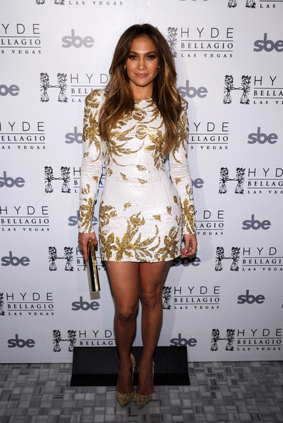 Fashion Jennifer Lopez Red Carpet Celebrity Dresses Long Sleeve Cocktail Dress Sheath Vestidos Special Occasion Gold - Weddings & Events Collection store