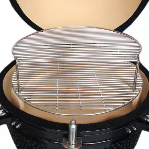 Ronde sup rieur cuisson grille pour kamado bbq grill dans grilles de barbecue de maison jardin - Grille de cuisson pour barbecue ...