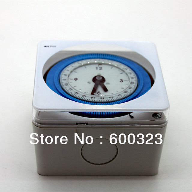 Aliexpress.com : buy hager ah711 din rail analog time switch 16a ...