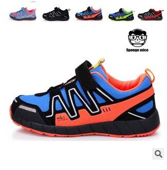 2015 новый детская обувь мода кроссовки свободного покроя дышащие мальчики и девочки спортивная обувь теннис Infantil для детей размер 25-37