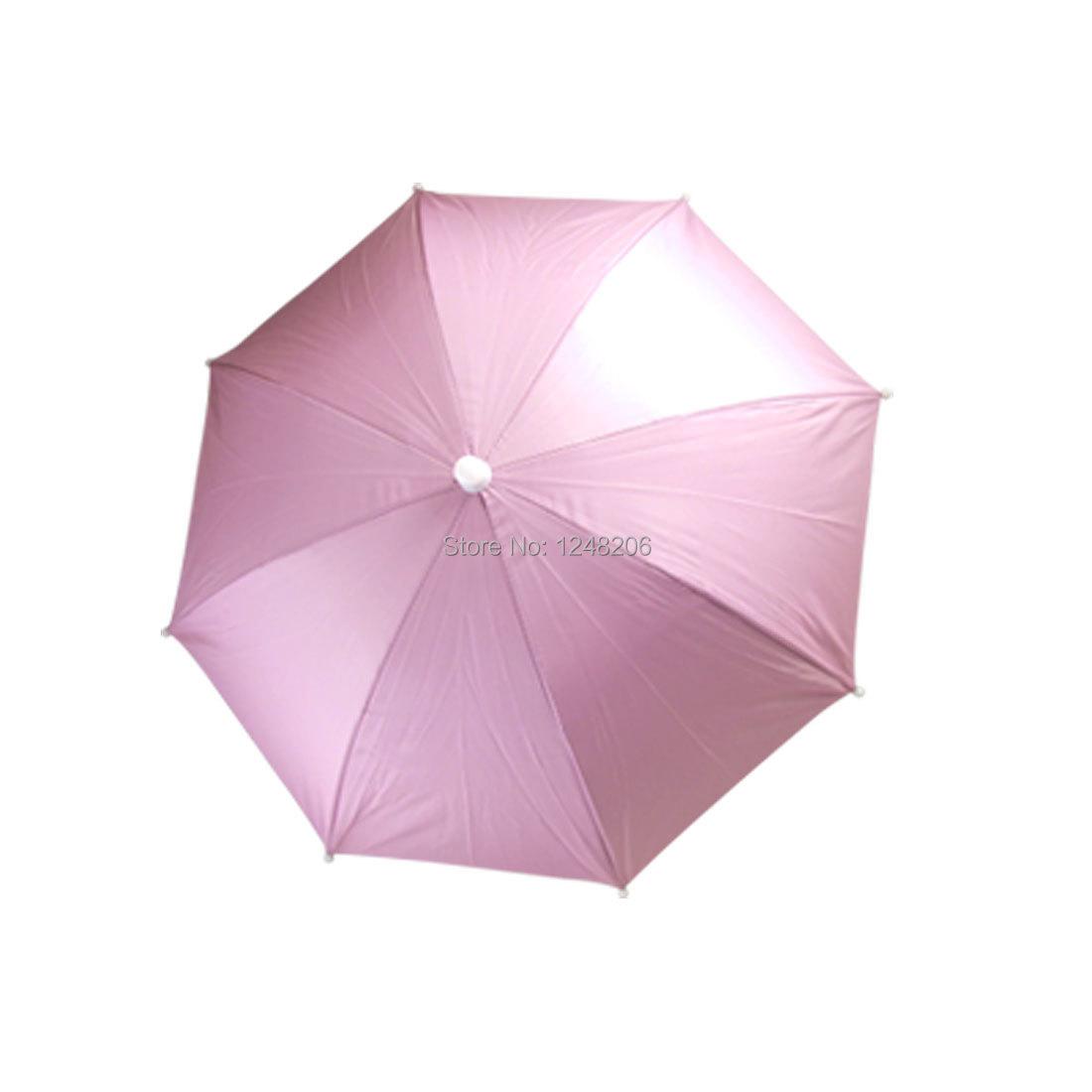 Pink Outdoor Sports Fishing Umbrella Hat Headwear Discount 50(China (Mainland))