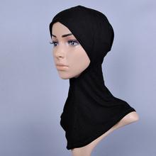 2016 National Women Caps Muslim Cap Hot Sale Solid Color Head Scarf Latest Design Mini Turban(China (Mainland))