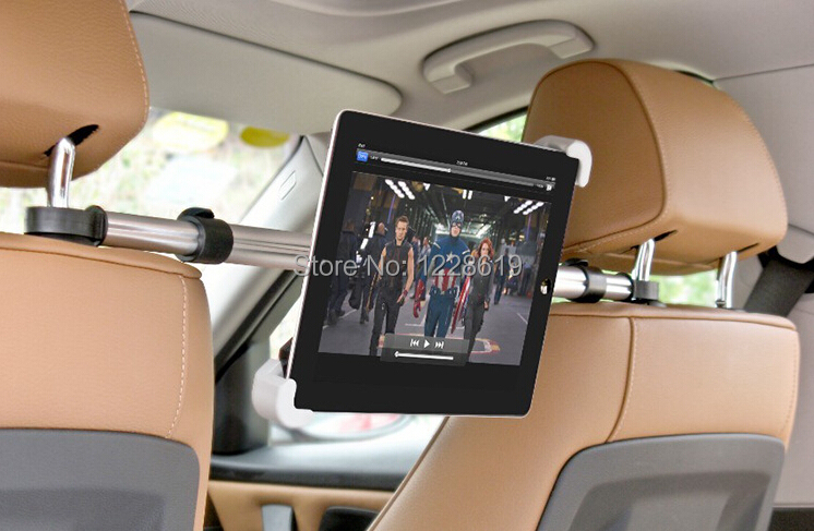 Universal 7-10.1 inchTablet PC holder Car Back Seat Mount Bracket Stand iPad 2/3/4/5/6 samsung galaxy Tab E tablet support - Chinese mobile phone electronic city store