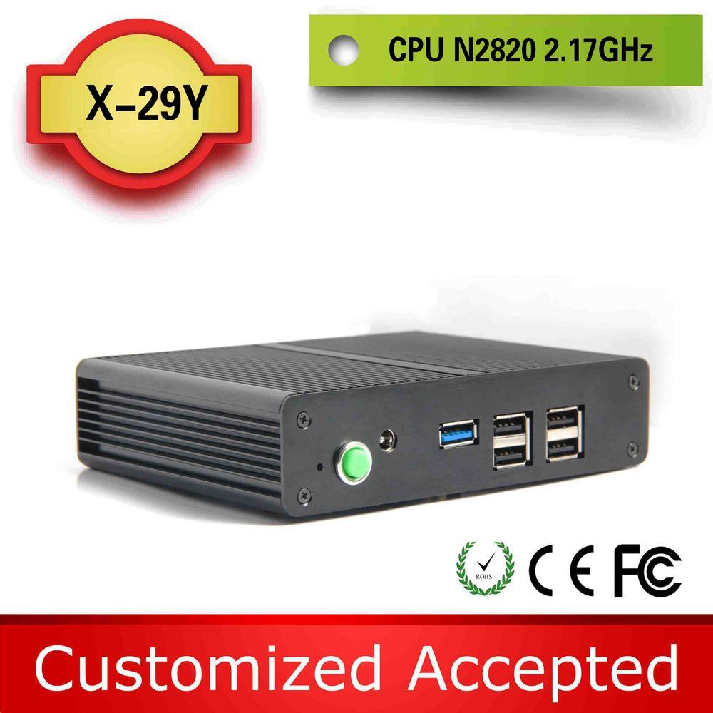 Mini пк 12 v безвентиляторный mini пк x29y intel celeron n2820 плам размер неттоп mini