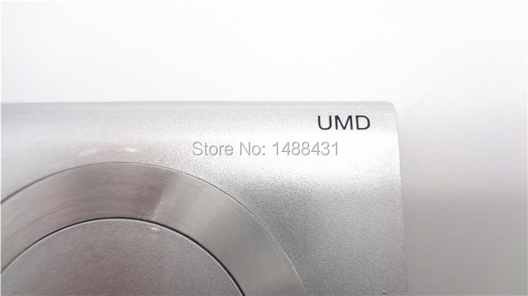 Wholesale 10pcs UMD Silver Shell Cover For PSP 2000 Game Console For Sony Game Repair Replacement For PSP 2000 UMD Faceplate(China (Mainland))