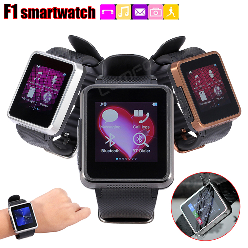 F1 Bluetooth Smart Watch Phone 1.55 inch Luxury Sports Life Waterproof Smartwatch For IOS Android Samsung Galaxy S6 Huawei HTC(China (Mainland))