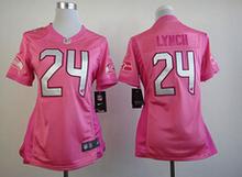 Women's lady size S-XXL 2016 free shipping,100% Stitiched,Seattle Seahawks Marshawn Lynch Richard Sherman(China (Mainland))