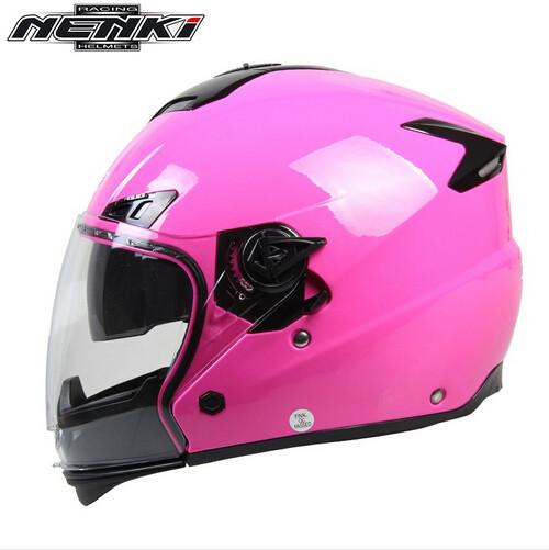 (1pc&4colors) Newest Nenki Brand Double lens Modular Motorcycle Helmet Full Face Open Face Motorbike Helmet Casco OF850(China (Mainland))