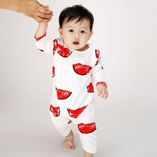 2016 Newborn baby clothes  baby rompers Baby works parts Romper infant animals boys girls watermelon Jumpsuits(China (Mainland))