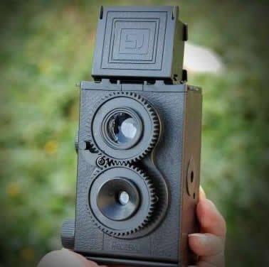 10PCS/LOT DIY Colorful LOMO Retro Camera Science Vo1.25 Twin Lens Reflex TLR Camera