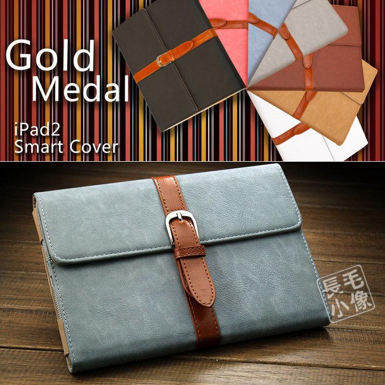 Ipad Mini 1 2 3 Korean Brief Artificial Leather Case Stand & buckle Soft PU Cover Bags Apple ipad mini - OHMG store