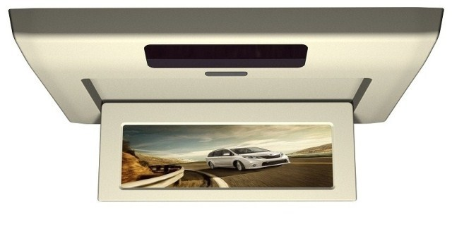 1080P HD 10.2 LED Screen Multimedia player With DVD USB SD Card port Car ceiling Screen suits for Toyota Sienna(China (Mainland))