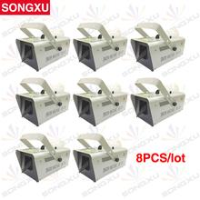 SONGXU 8pcs/lot Wholesale 1500W DMX Snow Machine for Stage Event Party /SX-SM1500A(China (Mainland))