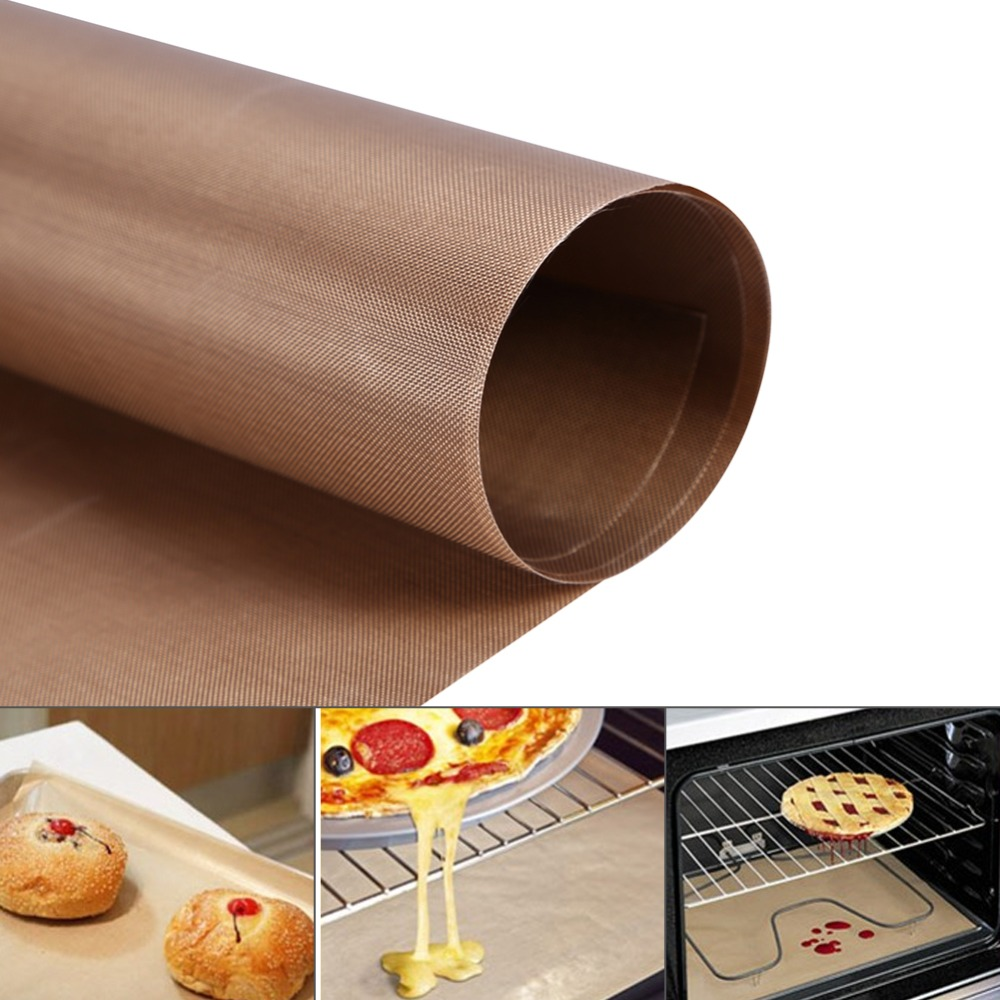 60*40CM Baking Mats High Tempreture Resistant Cloth BBQ Sheet Anti-oil Fabric Baking Linoleum Reuse Oil Paper(China (Mainland))