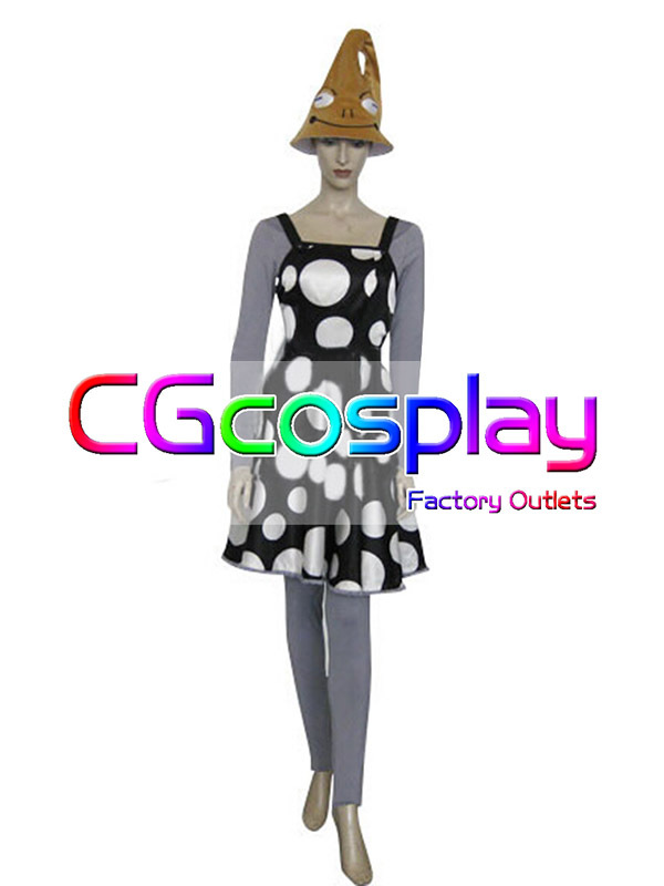 Free Shipping Cosplay Costume SOUL EATER Witch New in Stock Retail/Wholesale Halloween Christmas Party(China (Mainland))