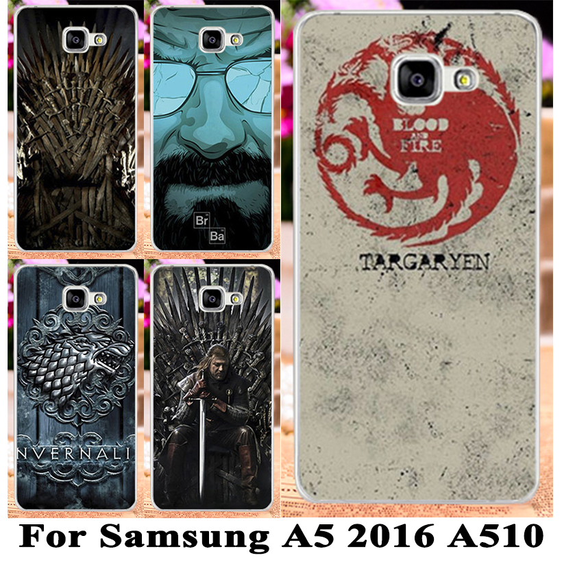 Hard PC Cell Phone Cases Cover For Samsung Galaxy A5(2016) A5+ A510 A5100 SM-A510F Case A5 2016 Mobile Phone Case Cover Shell(China (Mainland))