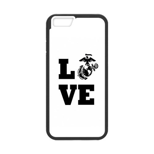 Marine Corps Live cell phone bags case cover for for Iphone 4S 5 5S 5C 6 Plus Samsung galaxy S3 S4 S5 S6 S7 edge Note 2 3 4 5(China (Mainland))