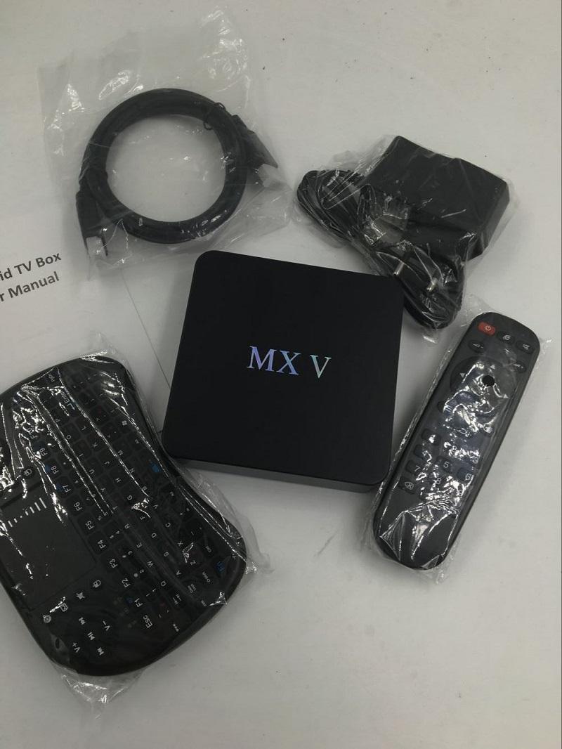 MXV Plus Amlogic S905 Android 5.1 tv receiver+Wireless Keyboard 4K 2G/8G Youtube mushup KODI install Miracast media player(China (Mainland))