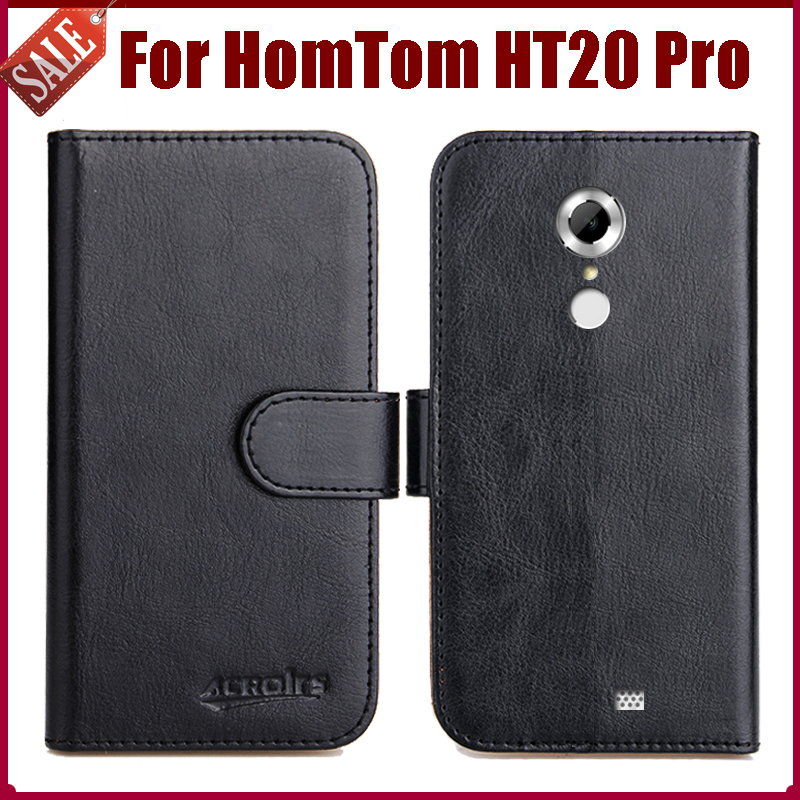 Hot Sale! HomTom HT20 Pro Case New Arrival 6 Colors High Flip Leather Protective Phone Cover HomTom HT20 Pro Case