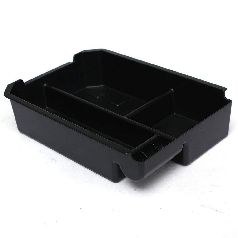 New Type B Center Console Armrest Storage Box Tray For Toyota RAV4 2013-2015 Black(China (Mainland))