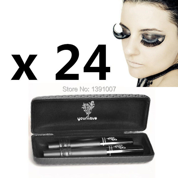 Free DHL 3D fiber lash mascara eyelash extension mascara natural fibers & transplanting gel(China (Mainland))