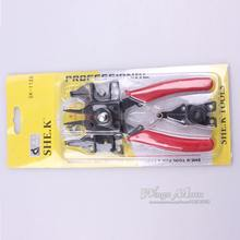 NEW 4 IN 1 SNAP RING TOOL CIRCLIP PLIER COMBINATION RETAINING CLIP (China (Mainland))