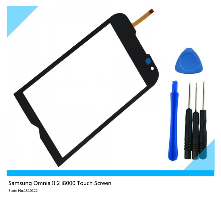 original Touch Screen Digitizer Replacement for Samsung Omnia II 2 i8000 (+free DIY tools)(China (Mainland))