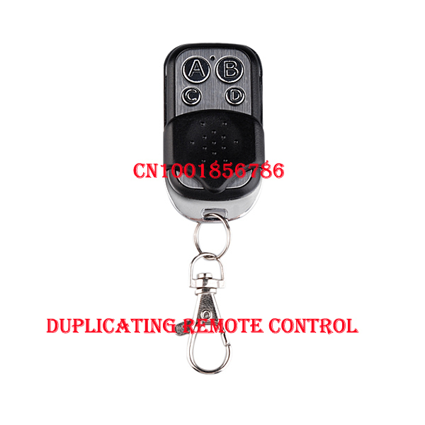 Free shipping! 4-channel cloning garage door remote control transmitter duplicator ( face to face copy) 433.92MHz(China (Mainland))