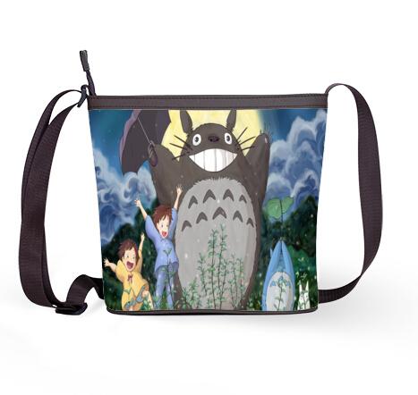 apanese anime Totoro Women's Sling Bag ! New 2014 free shipping casual women's messenger bag(China (Mainland))