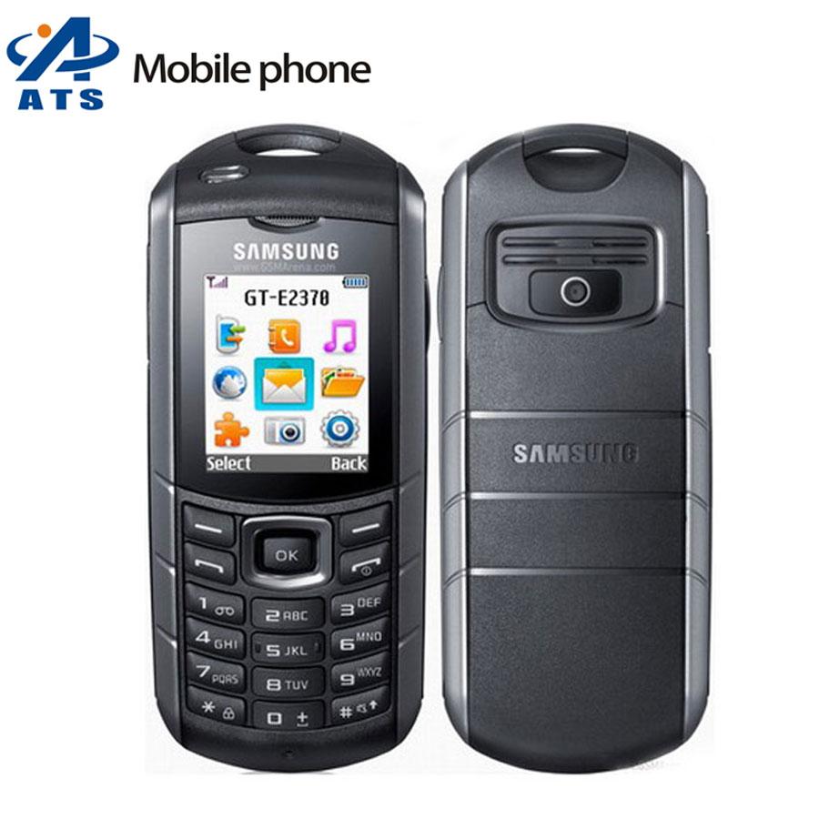 E2370 Original Samsung E2370 Xcover Mobile Phone IP54 Certified WaterProof Flashlight Polish Support Free Shipping(China (Mainland))