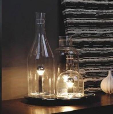 Design scandinavo camera da letto comodino moda bottiglia ikea ...