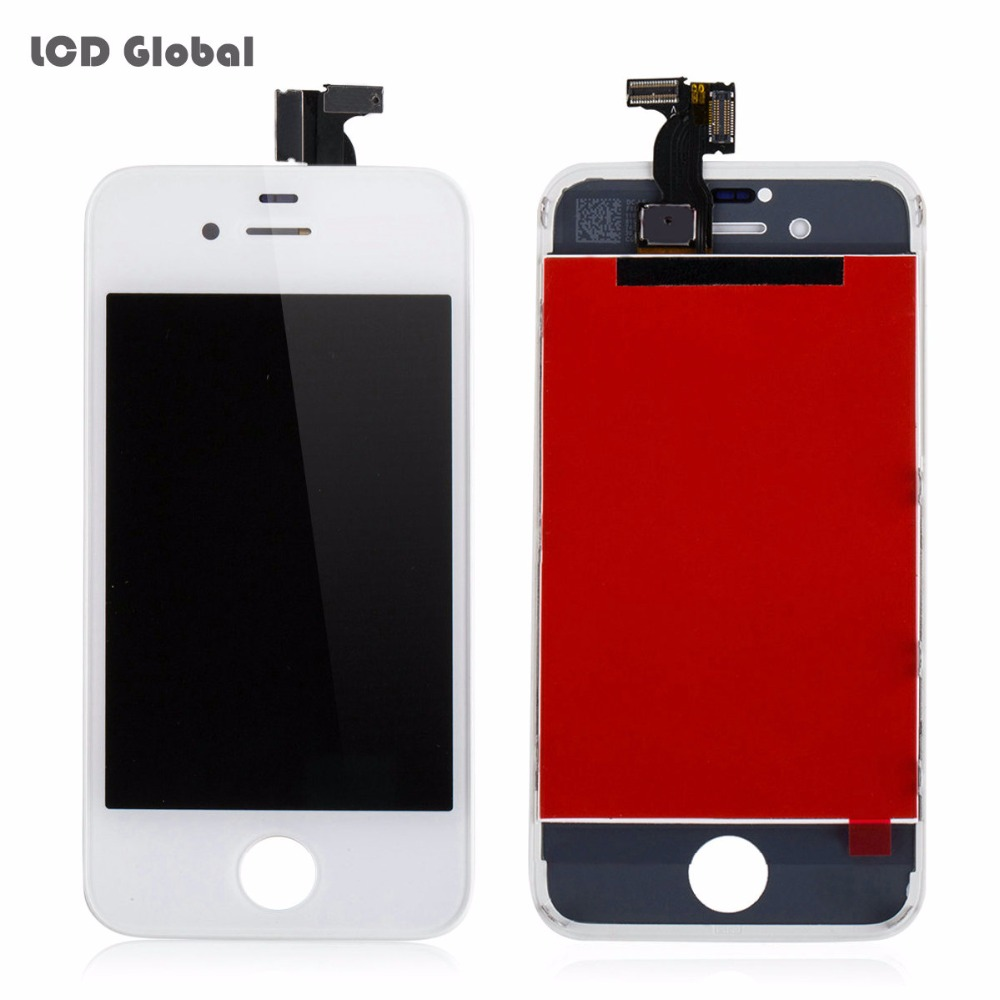 Cheap AAA Original Quality Mobile Phone LCD Display For Apple iPhone 4S LCD Touch Screen Digitizer Assembly in Black White color(China (Mainland))