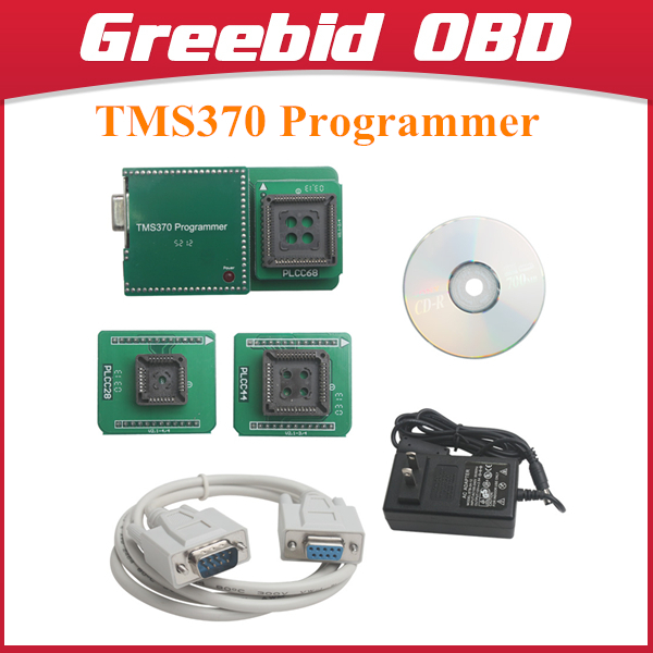 TMS370 Programmer used for car radio decoding car odometer adjusting and IMMO Pin code reading(Hong Kong)