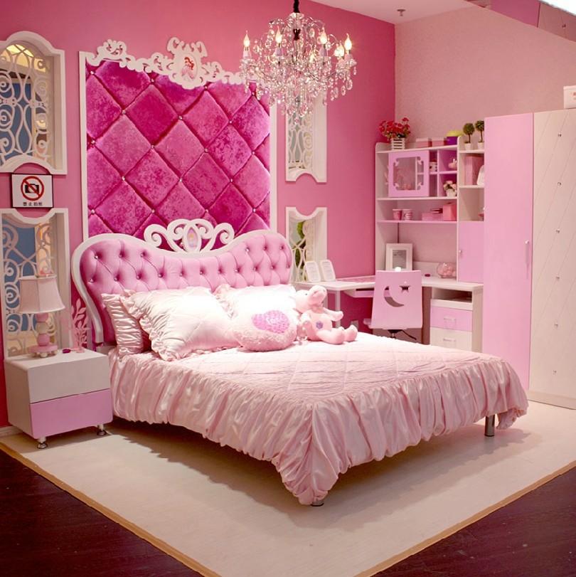 Ragazze mobili camera da letto rosa acquista a poco prezzo for Camera da letto in stile europeo