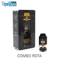 NEW 100 Original iJoy COMBO RDTA Tank with 6 5ml e Juice Capacity Interchangeable Gold Plated
