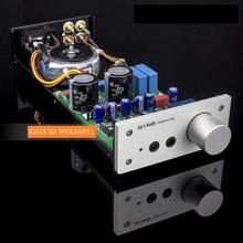 Finished HIFI Headphone amplifier Stereo Amp Base on Lehmann Headhpone AMP(China (Mainland))