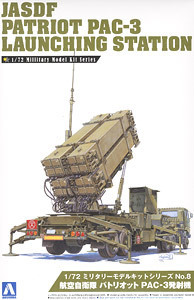 AOSHIMA 1/72 JASDF PATRIOT MISSILE PAC-3 LAUNCHING STATION KIT # 00995(China (Mainland))