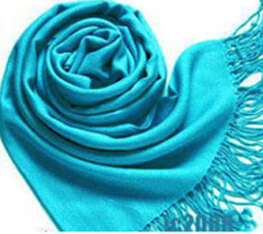 Multicolor Scarves Long Large Warm Wool Blends Soft Wrap Scarf Shawl Tassels CY0344 dropshipping(China (Mainland))